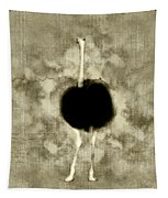 Ostrich Portrait Tapestry