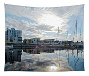Oulu From The Sea 2 Tapestry