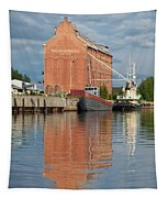 Oulu From The Sea 3 Tapestry