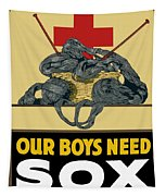 Our Boys Need Sox - Knit Your Bit Tapestry