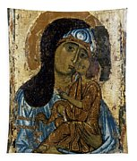 Our Lady Of Tenderness Tapestry