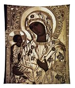 Our Lady Of Yevsemanisk Tapestry