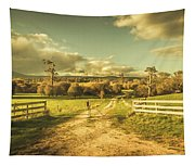 Outback Country Paddock Tapestry
