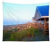 Outerbanks Sunrise At The Beach Tapestry