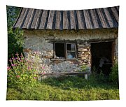 Outhouse Tapestry