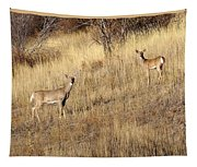 Outstanding In Their Field Tapestry