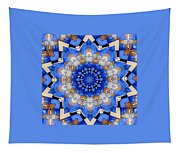 Ovarian Cancer Awareness Mandala Tapestry