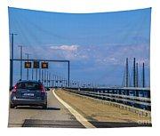 Over The Bridge Tapestry