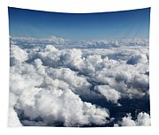 Over The Heavenly Clouds Tapestry