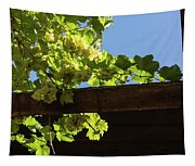 Overhead Grape Harvest - Summertime Dreaming Of Fine Wines Tapestry