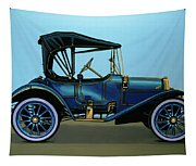 Overland 1911 Painting Tapestry