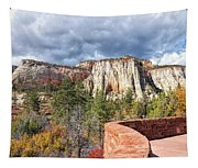 Overlook In Zion National Park Upper Plateau Tapestry