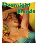Overnight Blonde Tapestry