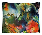 Overseer By Reina Cottier Tapestry