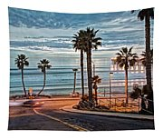 Pacific And 1st Street Tapestry