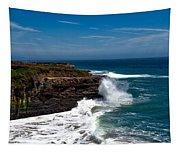 Pacific Coastline Tapestry