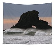Pacific Northwest Waves Tapestry