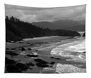 Pacific Ocean Moody Scenic Tapestry
