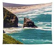 Pacific Ocean Shore Tapestry
