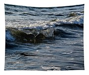 Pacific Waves Tapestry