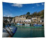 Padstow Harbour  Tapestry