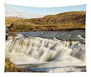 Paine River Waterfall Tapestry
