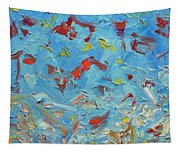 Paint Number 47 Tapestry