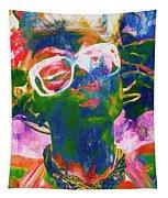 Paint Splash Pinup Art Tapestry