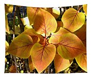 Painted Autumn Lilac Tapestry
