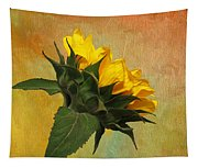 Painted Golden Beauty Tapestry