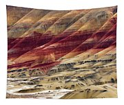 Painted Hills Contour Tapestry