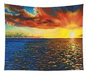 Painted Horizon Tapestry