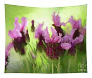 Painted Lavender By Kaye Menner Tapestry