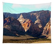 Painted Mountains Tapestry