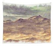 Mountainous Landscape Tapestry