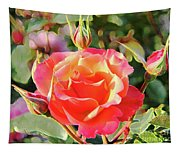 Painted Rose Tapestry