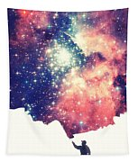 Painting The Universe Awsome Space Art Design Tapestry