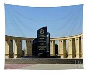 Pakistan Air Force Martyrs Monument Honoring Dead Pakistani Airmen At Paf Museum Karachi Pakistan Tapestry