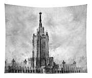 Palace Of Culture And Science Tapestry