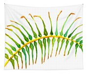 Palm Leaf Watercolor Tapestry