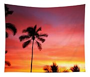 Palm Silhouettes Tapestry