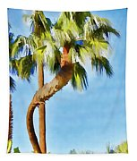 Palm Tree Needs A Chiropractor Painterly I Tapestry