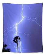 Palm Tree On Strike Tapestry