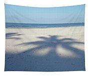 Palm Trees Over Fort Myers Beach Fort Myers Florida Tapestry
