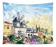 Palma De Mallorca Panoramic 03 Tapestry