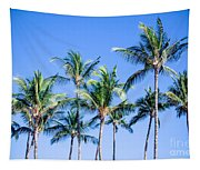 Palms In Living Harmony Tapestry