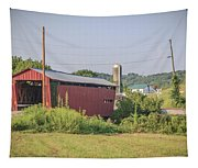 Palos Covered Bridge Tapestry