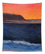 Palos Verdes Sunset Tapestry