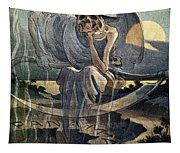 Panama Canal Cartoon, 1904 Tapestry