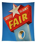 Panhandle South Plains Fair Sign Tapestry